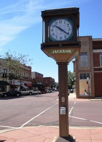 Downtown Jackson - Clock Tower