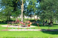Playground equipment at Ashley Park